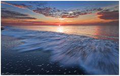 sunset beach nc | North Carolina beach sunset | Beautiful North Carolina Beaches