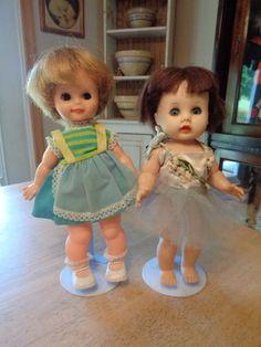 "2 Vintage Dolls/Vinyl/Hard Plastic~R&B Littlest Angel & Friend~10"" & 11 1/2""~ | Dolls & Bears, Dolls, By Brand, Company, Character | eBay!"