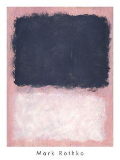 Znalezione obrazy dla zapytania mark rothko pink print
