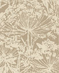 """""""Loka 03"""" wallpaper, design and copyright by Lim & Handtryck, Sweden. [wild chervil, Anthriscus sylvestris, Apiaceae]"""