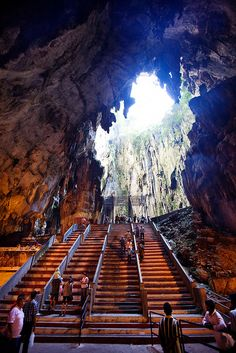 Batu Cave, north of Kuala Lumpur, Malaysia