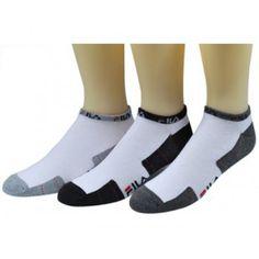 5a59472e0bde6 FILA 4-Pair Lo-Cut Quarter Sport Athletic Socks for Men Women Athletic Men