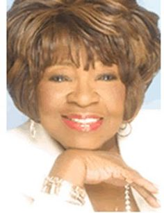 Albertina Walker was an American gospel singer, song writer, actress, and humanitarian. She was popularly referred to as the Queen of Gospel Music