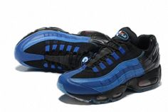 low priced 807d0 f6aab Nike Air Max 95 Stussy X 822829 444 Lebron James Game Royal Black Factory  Authentic 2018 Shoe