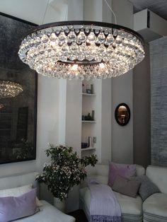 Ochre, arctic pear chandelier www.livingdelux.com