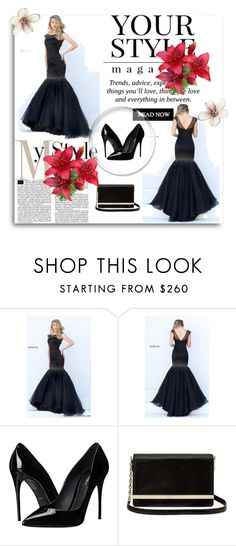 """""""Dressgownstores 9"""" by lejla-cergic ❤ liked on Polyvore featuring Sherri Hill, Dolce&Gabbana, Diane Von Furstenberg and Pussycat"""
