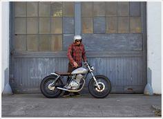 1980 Suzuki GN400 - Holiday Customs - Pipeburn - Purveyors of Classic Motorcycles, Cafe Racers & Custom motorbikes