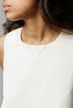 Loren Stewart - Baby Bar Necklace