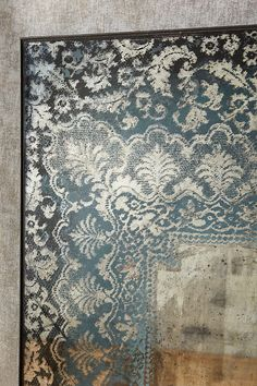 Slide View: 4: Dissolved Lace Mirror