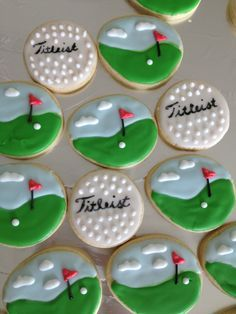 Golf cookies!  Check available dates for your next event at Balcones Country Club! 512-258-1621 #Golf #fundraisers #tournament