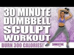Standing Dumbbell Workout to Make You Slim and Toned – Focus Fitness – Fitness&Health&Gym For Women Interval Training Workouts, 20 Minute Workout, Six Pack Abs Workout, Ab Workout Men, Workout Days, Barre Workout, Dumbbell Workout, High Intensity Interval Training, Men Exercise
