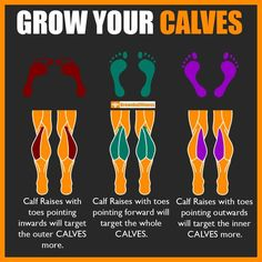 Your calves should be your lower-body biceps, the show-and-go muscles for your legs. But some people just develop a monster set of calves while some people can train their calves daily for their whole. Gym Workout Chart, Gym Workout Tips, Weight Training Workouts, At Home Workouts, Chest Workouts, Post Workout, Bodybuilding Training, Bodybuilding Workouts, Fitness Video