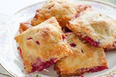 Berry Hand Pies with your favorite berries tucked inside a tender, flaky buttery crust. No fork needed!