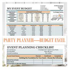 Georges Wedding Budget Spreadsheet Plus V20