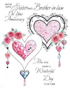 happy anniversary sister and brother in law - Bing images Marriage Anniversary Message, Happy Wedding Anniversary Wishes, Wedding Greetings, Anniversary Greetings, Anniversary Funny, Anniversary Photos, Anniversary Gifts, Wedding Wishes Messages, Birthday Wishes Quotes