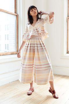 Mara Hoffman Fall 2020 Ready-to-Wear Fashion Show - Vogue Mara Hoffman, Fashion 2017, Fashion Show, Fashion Design, Fashion Trends, Street Fashion, Fall Fashion, Fashion Ideas, Dress For Summer