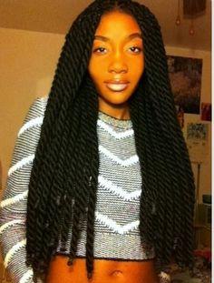 i love these havanna twist Marley Twists, Marley Twist Styles, Marley Braids, Protective Styles, Protective Hairstyles, Braided Hairstyles, Crazy Hairstyles, Female Hairstyles, Updo Hairstyle