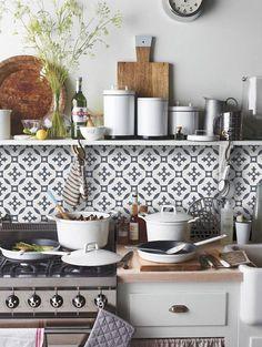 kitchen tile in a rental