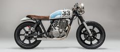 """WHO DARES WINS"" YAMAHA SR500 Yamaha bike"