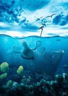 Create a Realistic Underwater Scene in Photoshop — Tuts
