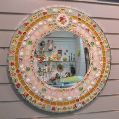 LOVE this mirror - will be making one soon