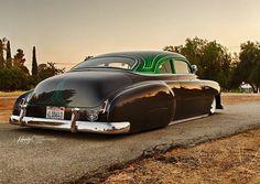 Nice low chevy sedan