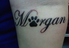 24 Inventive Paw Print Tattoo For 2013 | Design.CreativeFan