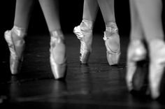 pointe shoes!