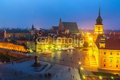 Poland Tours, Escorted Small Group Travel to Central Europe Warsaw Old Town, Central Europe, Corpus Christi, Travel Agency, City Lights, Paris Skyline, Tours, Vacation, Places