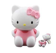 Hello Kitty Mini High Speed USB 3.0 Flash Drive 64gb Pen Drive 32gb Pendrive 8gb 16gb U Disk Memory Thumb Stick Cute Girl Gift