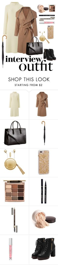 """""""Fashion Stylist Job Interview"""" by brunettediary ❤ liked on Polyvore featuring Uniqlo, Fulton, The Macbeth Collection, Case-Mate, Stila, Clarins, Laura Mercier, Victoria's Secret, jobinterview and 60secondstyle"""