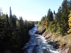 Imatra rapids in September.