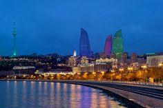 Baku Flame Towers / HOK