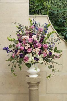 Boho Chic Vintage Wedding Flowers   Wedding Flower Ideas   Jewel Toned Wedding Flowers for Ceremony