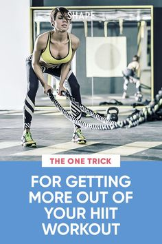 Jen Widerstrom shares how to maximize your HIIT training so you are seeing the results you're working so hard for. #hiitworkouts #fitnesstips #fitnessandhealth Best Hiit Workout, Intense Cardio Workout, Cardio Workouts, You Fitness, Fitness Tips, Jen Widerstrom, Weight Set, Sweat It Out, Interval Training