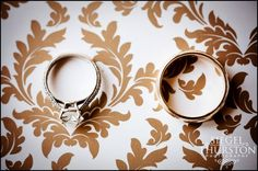 His and her rings-- so beautiful! {Siegel Thurston Photography}
