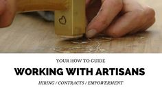 8 things to consider and do when commissioning artists, artisans and designers. Your Guide to Working With Creatives American Crafts, Create Yourself, Artisan, Designers, Creative, Blog, Craftsman, Blogging, Americana Crafts