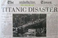 Titanic Newspaper Headlines
