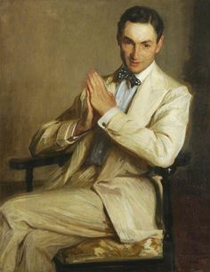 Jacques-Emile Blanche (French, 1861-1942), Harry Melvill, 1904. Oil on canvas, 99.1 x 79.4cm.University College, University of Oxford.