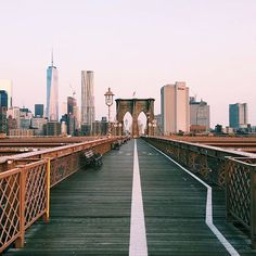 Walk the Brooklyn Bridge in New York City. And then do everything else on this list.