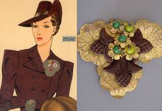 vintage Miriam Haskell... vintage pieces are highly sought after by collectors