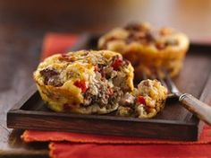 Impossibly Easy Mini Greek Burger Pies Recipe from Betty Crocker