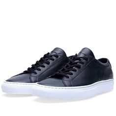 Common Projects Original Achilles Low Whitesole (Navy)