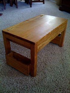 DIY Furniture : DIY Scrap Lap Desk