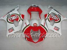 SUZUKI GSX-R 1000 2003-2004 K3 ABS Verkleidung - Glücklich Streik #suzukigsxr1000verkleidung #rennverkleidungsuzukigsxr1000