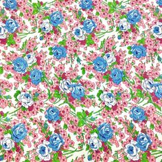 FRENCH ROSES RED GREY ROSE COTTON FABRIC FQ
