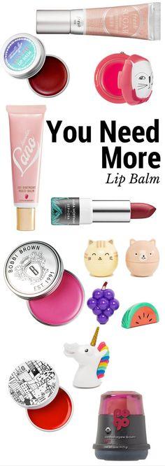 You Need More Lip Balm Especially Cute Ones!