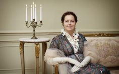 Greta Scacchi as Countess Rostov (Photo: BBC/Mitch Jenkins) War and Peace, first-look review: 'breathtaking' - Telegraph