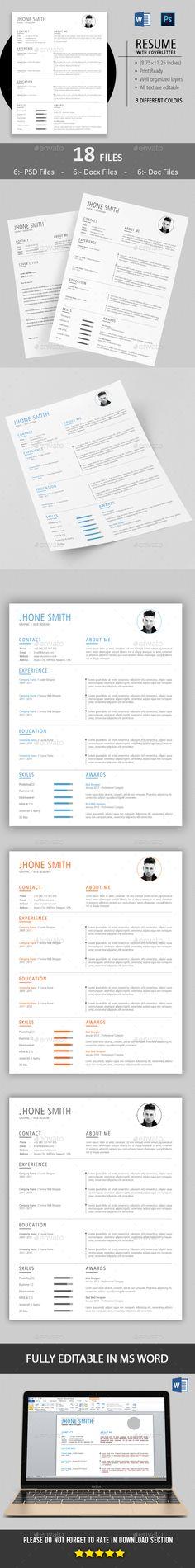 Resume Pinterest Template, Cv ideas and Simple resume - cv vs resume