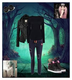 """""""."""" by oosammyoo ❤ liked on Polyvore featuring Helmut Lang and Supra"""